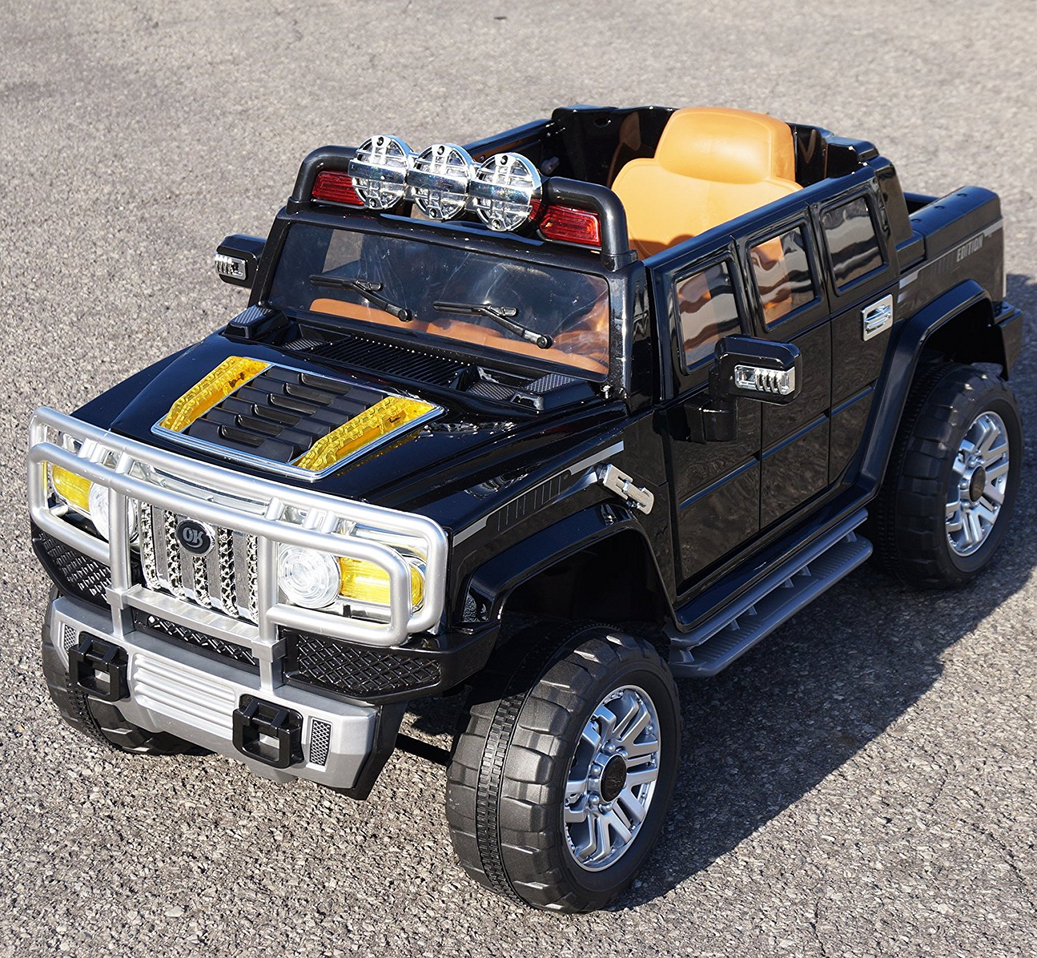 Ride on car HUMMER. Color - Black. Electric Vehicle. Battery Operated Ride On Car Toy With Remote Control (r/c). 2 speeds. Two electric motors, 12V. For kids 2-5 years. Electric car to drive.