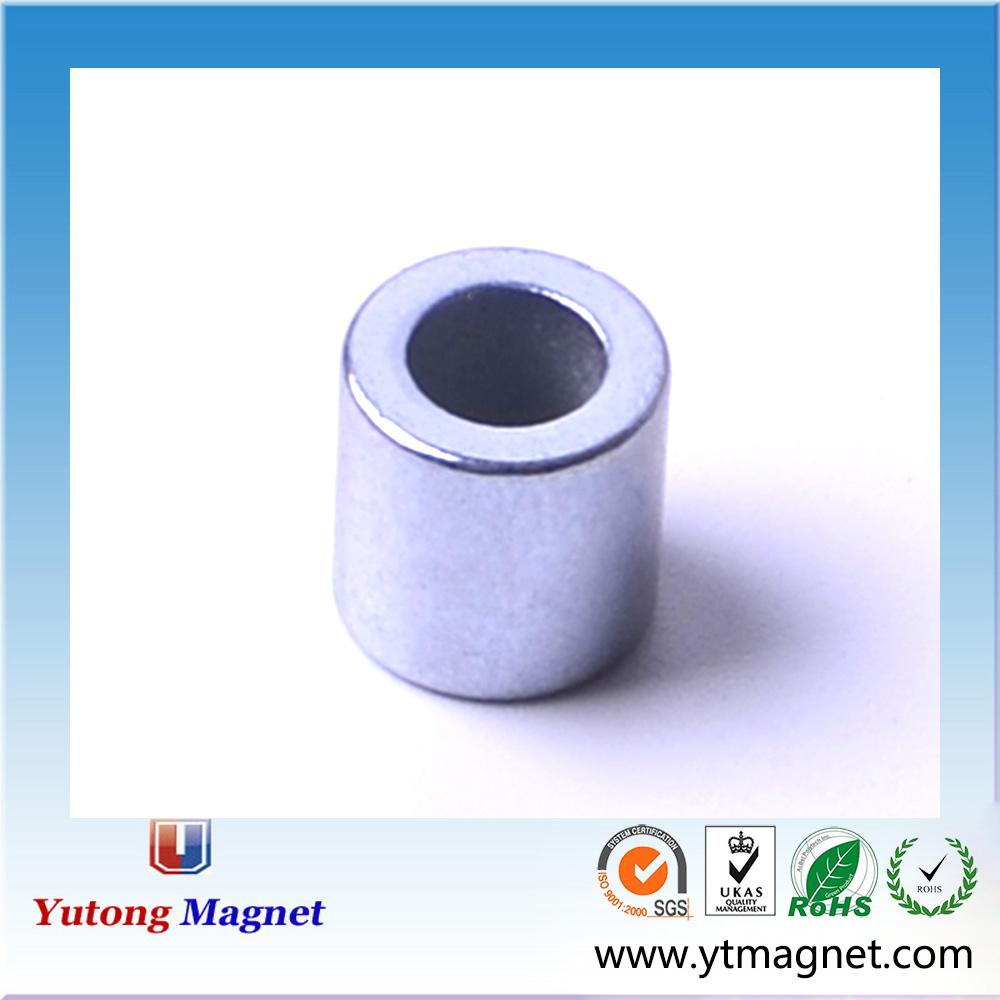 starke spezielle form neodym magneten rotor ferrit magnet topf mit loch magnetische materialien. Black Bedroom Furniture Sets. Home Design Ideas