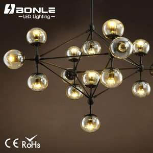 12 light E26/E27 water pipe industrial chandelier