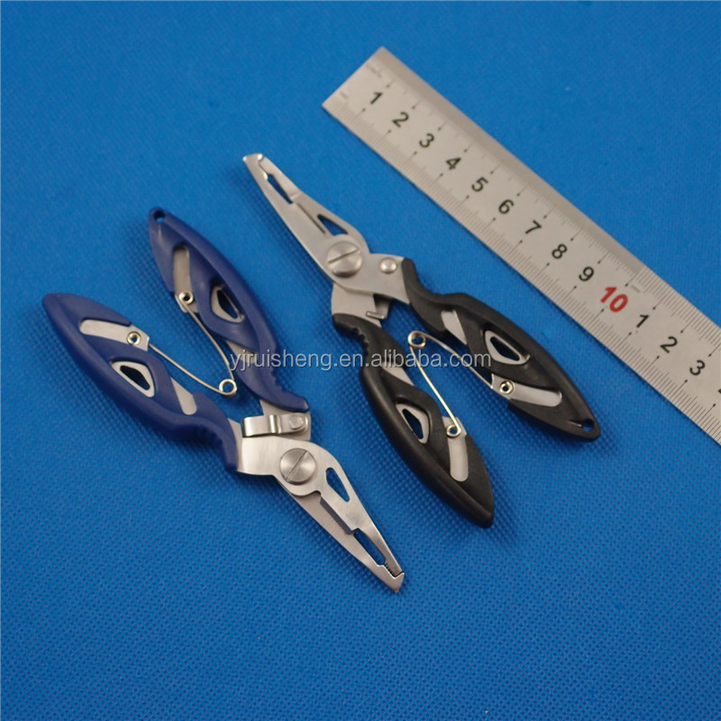 High Quality Rubber Handle long nose Fishing Pliers