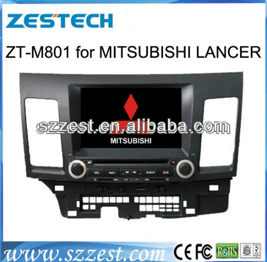 ZESTECH Autoradio GPS autoradio gps car parts for Mitsubishi Lancer DVD