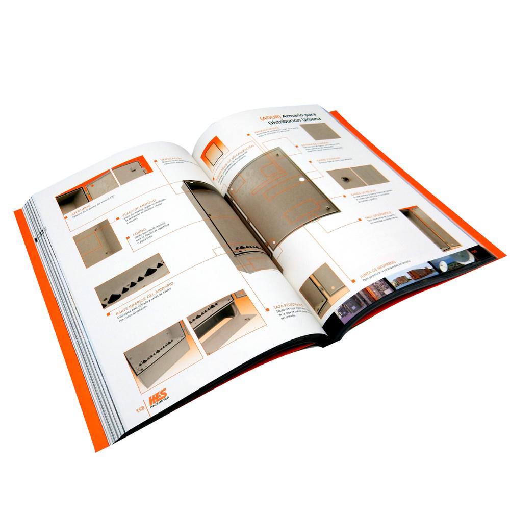 Super Luxury Perfect Binding Custom Coloring Catalog Book