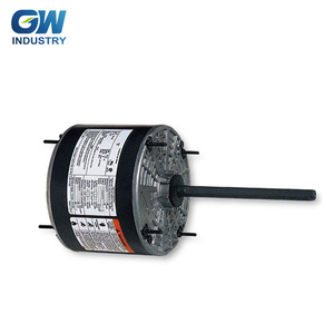 GW PSC Ventilation Direct Drive Blower motor 1/3 HP, 115 Volts, 1075 RPM, 4 Speed, 7.7 Amps, TEAO, Reversible Rotation,