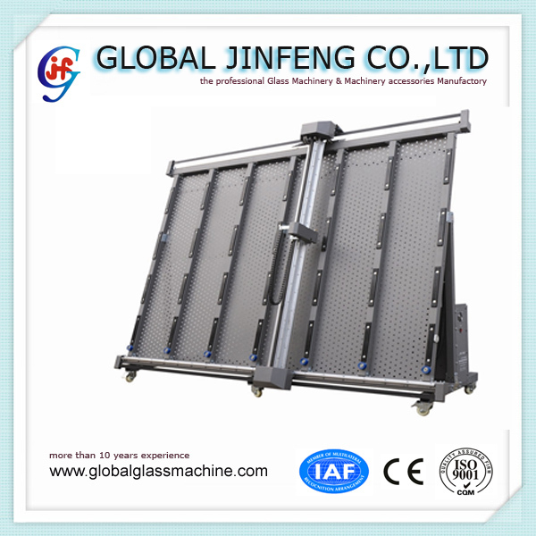 JF1000D PLC Vertical glass engrave cutting machine for sandblasting protect film