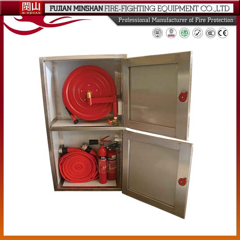 Stainless Steel Fire Hose Cabinet And Fire Hose Price