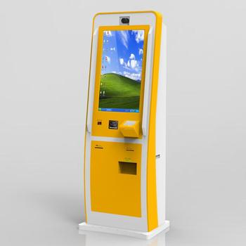 Self Service Ticket Vending Machine Kiosk with Touch Screen