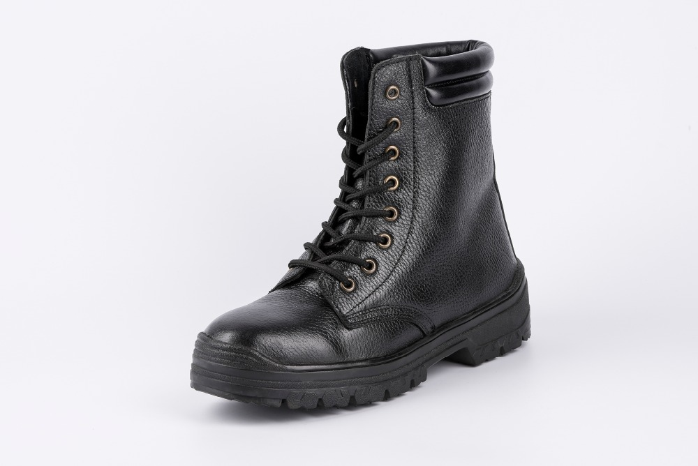 Police tactical boot safety steel toe shoe china shoe wholesalers