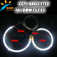 Auto Car Accessories E53 X5 CCFL Angel Eyes, High Quality Headlight for BMW