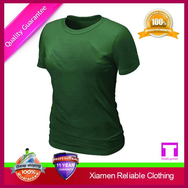 Most welcome attractive plain women fitted blank t-shirts clothing manufacturer