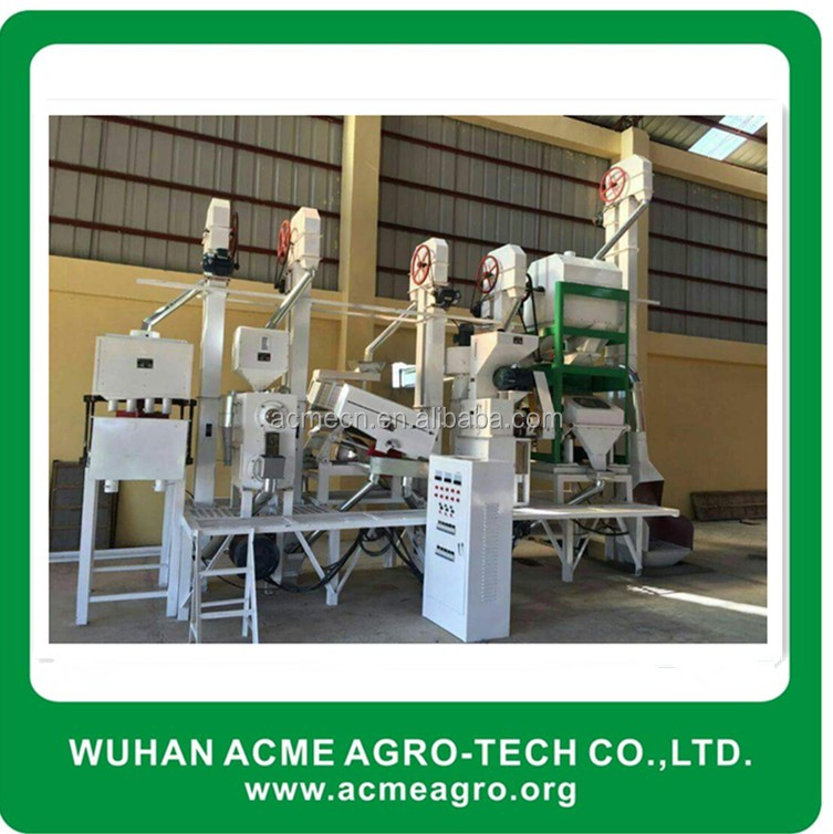 Complete set agro rice mill equipment