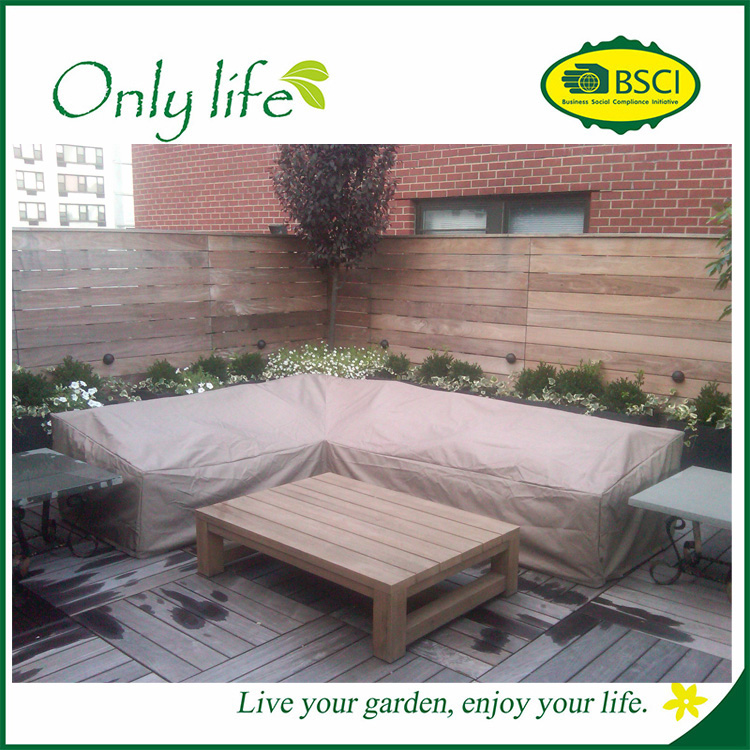 Onlylife Garden Outdoor Patio Corner sofa cover 203x295x90cm