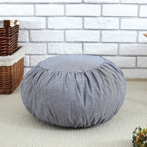 wholesale custom private label organic japanese style yoga zabuton zafu meditation seat pillow cushion