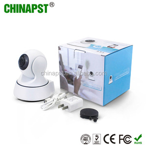 Factory supply IP Network Mini Robot Wireless Video P2P Pan Tilt PTZ Smart HD Baby Monitor Camera PST-CAM360