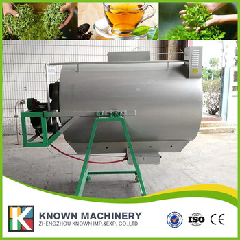Oolong thee steamer/thee blad verwerking machine/thee dampende machine