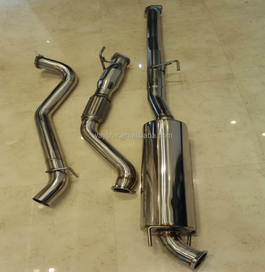 4x4 diesel exhaust systerm for toyota hilux D4d