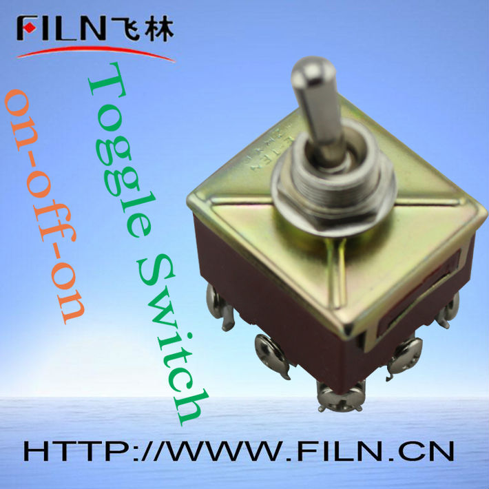 3-position electrical 15a 125v e-ten toggle switch