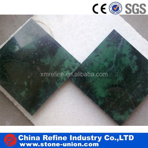 dark green polished marble high grade decoration tiles&countertops