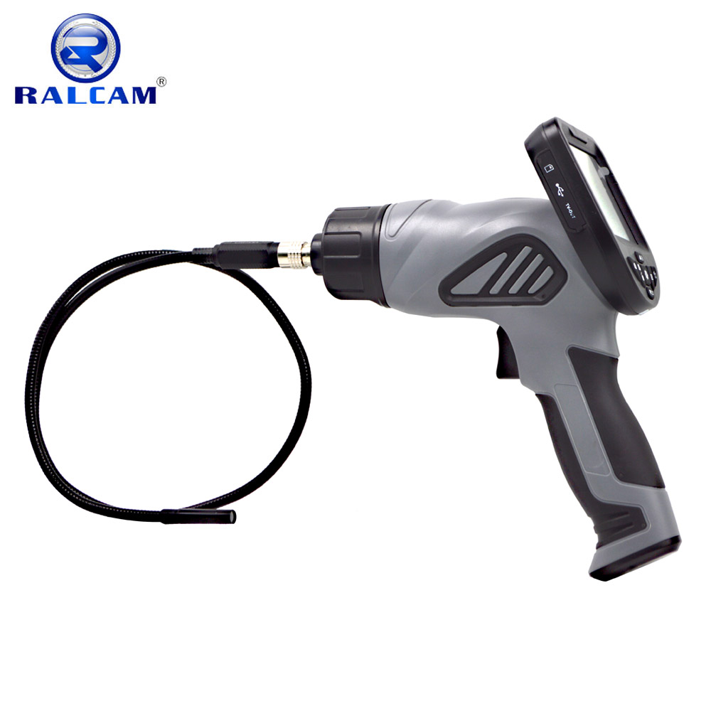3.5 inch handheld industrial borescope used in automotive pipeline sewer inspection