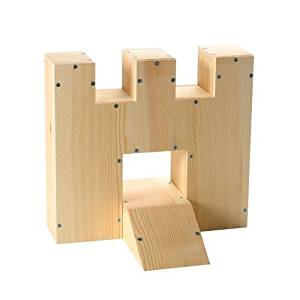 """""""ABC Products"""" - {Final Close-Out} ~ Assembling Wood Game - Miniature Golf - Castle and Ramp - Complete Kit (For Level 3 - 8 Years and Up - With Adult Assistance)"""