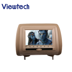 Game headrest car clip dvd player entertainment system