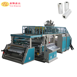Best selling safety automatic HDPE stretch film re-reeling machine price