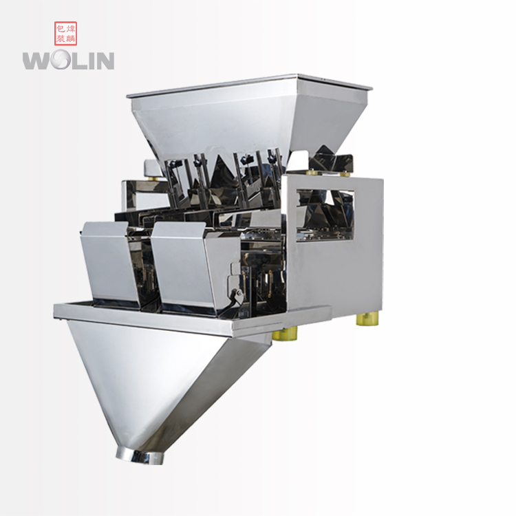 WL-P2H80 1-5kg rice sugar seeds 2 head linear weigher