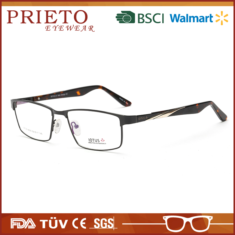 New arrival alibaba china alloy alluvium optical frames with low price