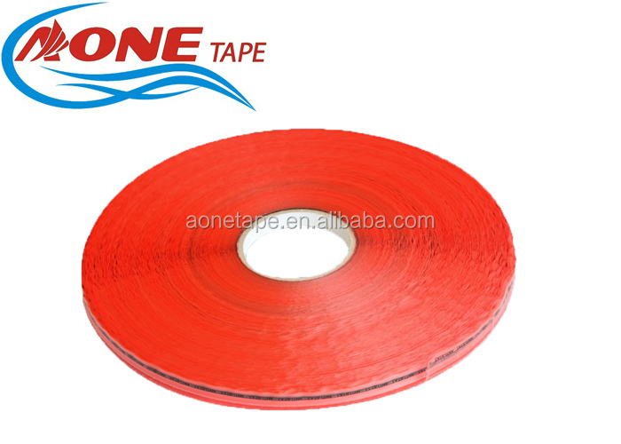 10 Rolls Red Produce Poly Bag Sealing Bags Tapes 13mm*1000m