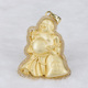 2017 Latest version 18K gold plating laughing buddha pendant high quality CZ buddha pendant with money bag
