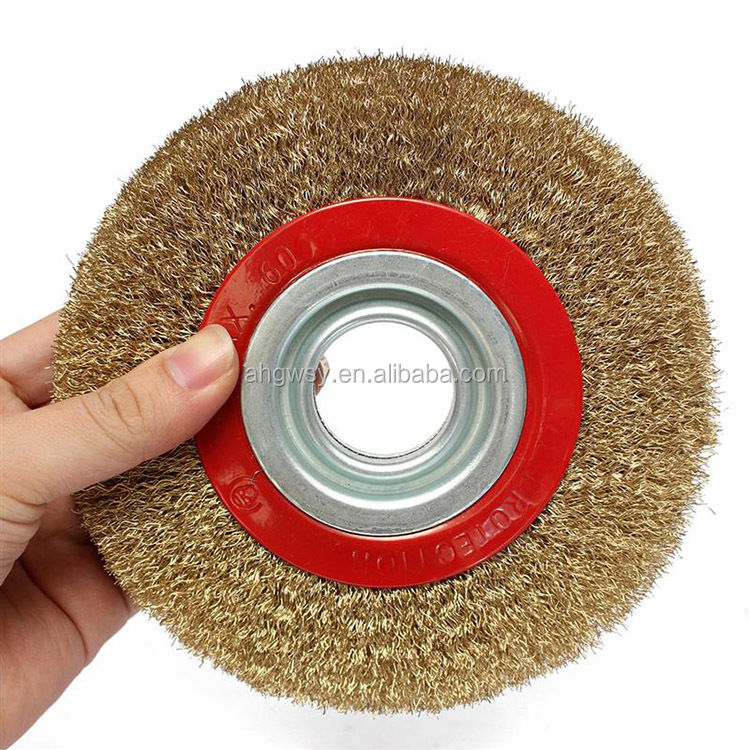 Fabulous 1Pc 6 Inch 150Mm Steel Flat Wire Wheel Brush For Bench Grinder Buy Wheel Brush Steel Flat Wire Wheel Brush Polishing Tools Product On Alibaba Com Gmtry Best Dining Table And Chair Ideas Images Gmtryco
