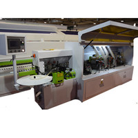 aull automatic solid wood working machinery edge bander machines for veneer abs with best quality and low price