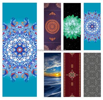 gift ideas heathyoga yoga towel exclusive corner pockets design 100