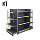 Custom size metal store shelf supermarket display rack