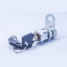 Hot selling product 12mm Chrome plating tubular key cam lock