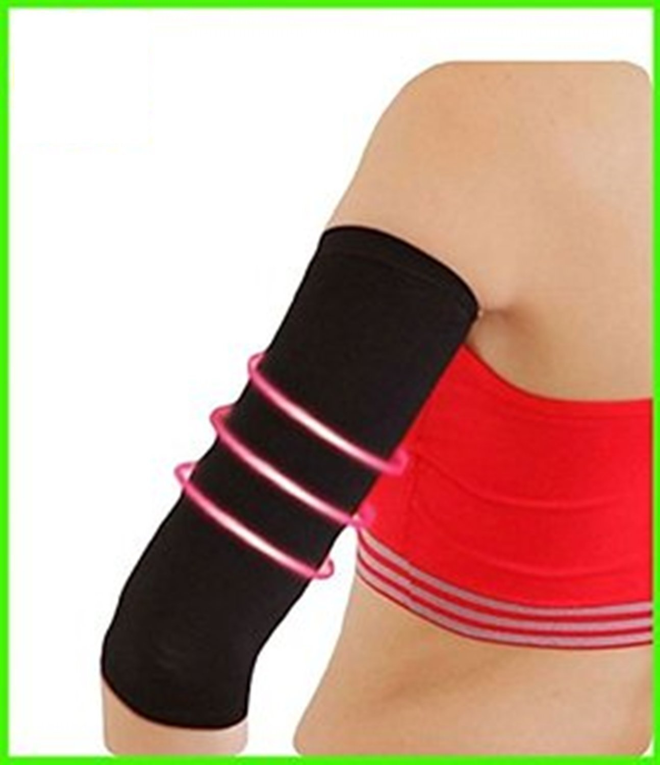 2b40565130043 Get Quotations · Slimming Sleeves Neoprene Body Shaper Arm Sleeve- Sauna  and Workout Arm Sleeve- Neotex Womens