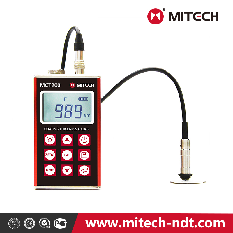 Newly designed MCT200 Coating Thickness Gauge with high-accuracy probes