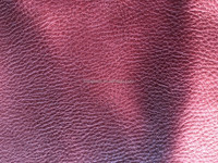 Cow grain leather, Dashed lines cowhide, dry-milled cow grain leather, genuine cow leather