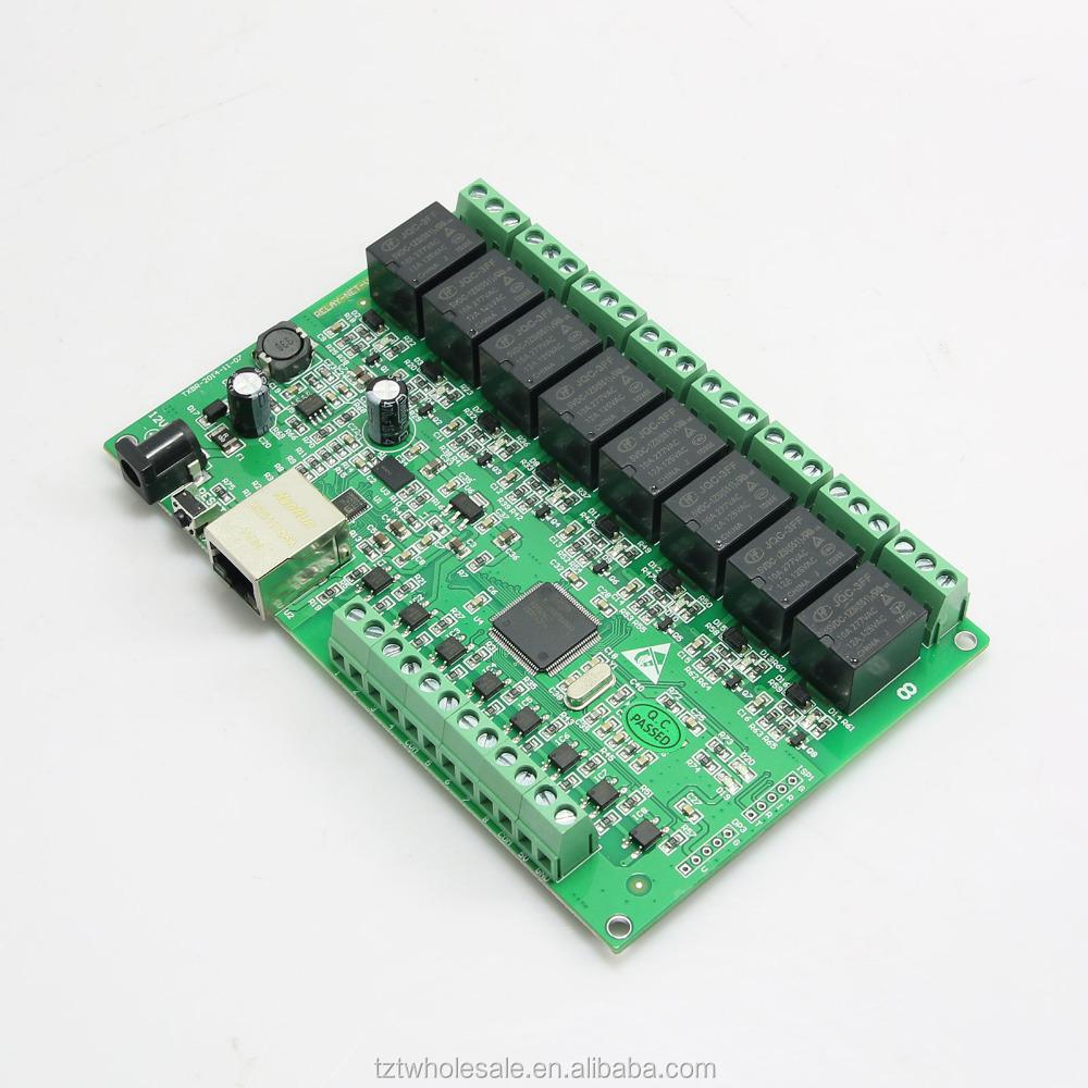 BIlinli Relais /à 8 canaux Relais IP Relais Web Dual Control Interface Ethernet RJ45