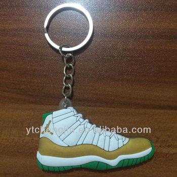 White Red Air Jordan 11 Keychains Cheap Bulk Sale Shoe Keychains ... 13588a16a