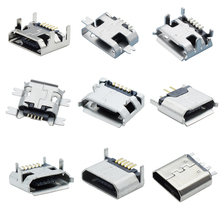 Micro usb b female 5 pin connector 5 pin micro switch 12v