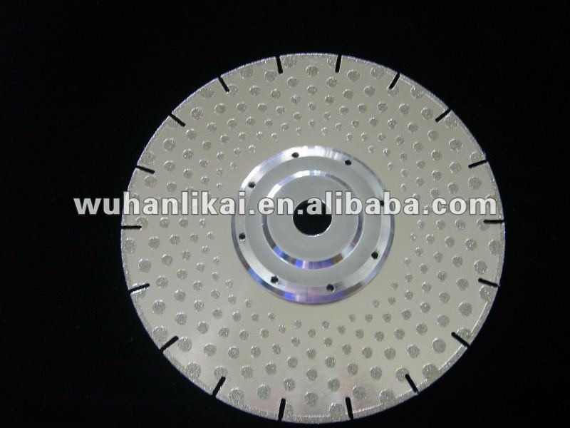 230 mm electroplated m14 diamond disc diamond cutting blade red