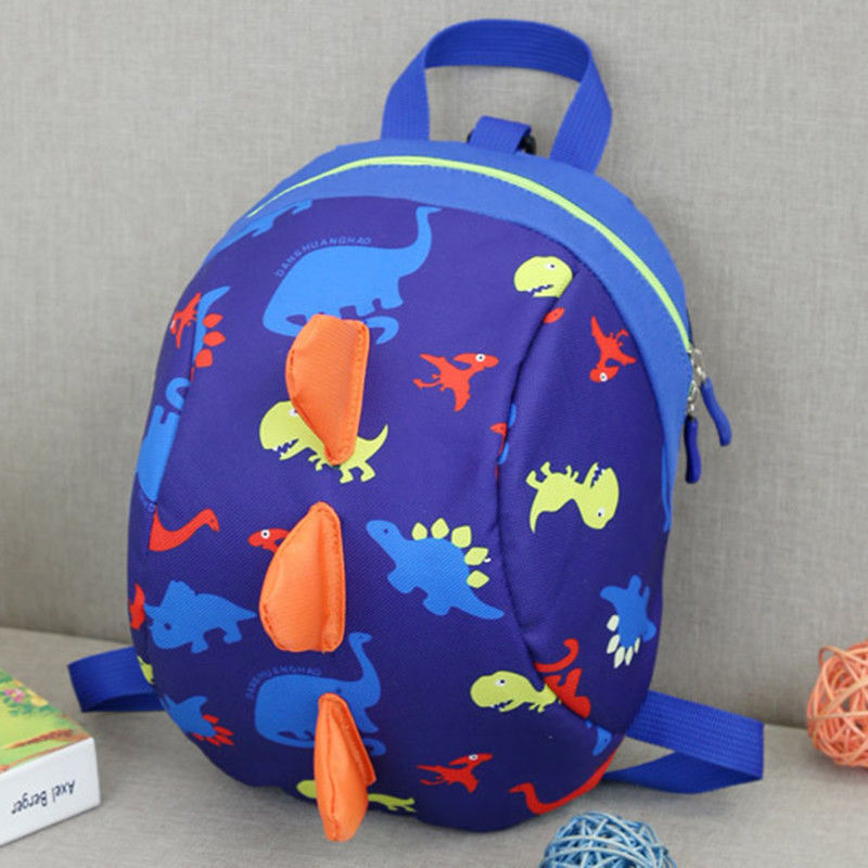 New Baby Kids Cartoon Toddler Dinosaur Safety Harness Strap Bag Backpack Reins D