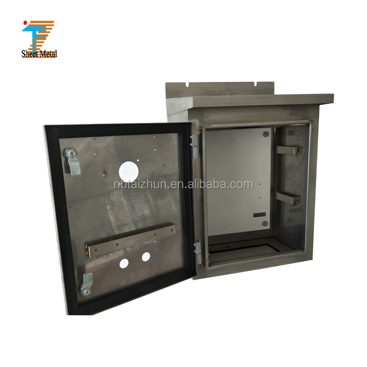 Thaizhun brand electronic enclosure stainless steel control cabinet housing box metal case