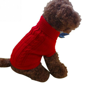 Easy Cable Knit Pattern Free Clothes Pet Dog Sweater Buy Pet