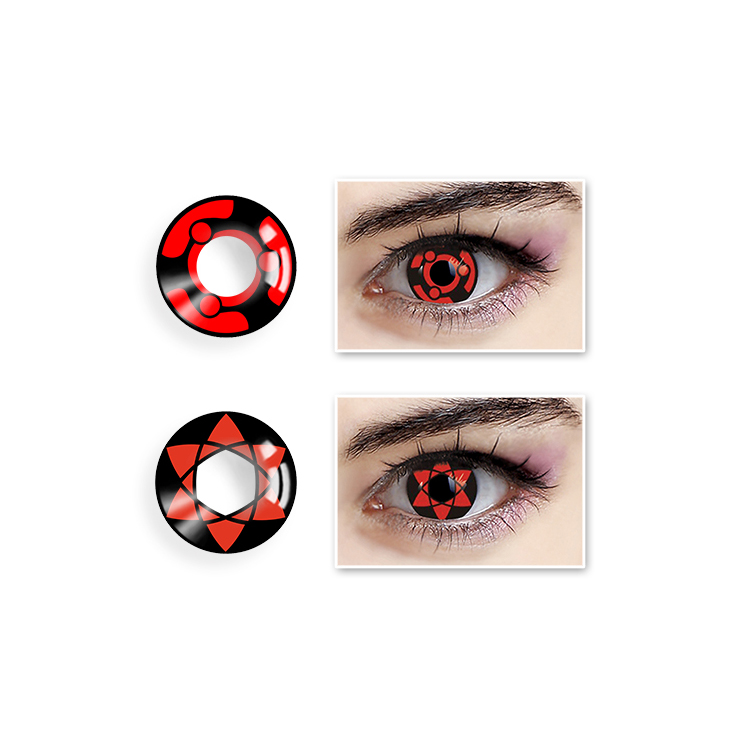 Halloween Color Contact Lens Blister Packing Contact Lenses фото