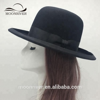 High Quality Wool Felt Bowler Top Hat For President - Buy Wool Hat ... 2faa1bd09e0