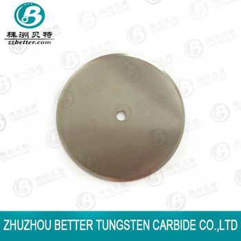 Tungsten Carbide Paper Cutting Knives