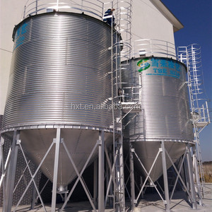 hopper bottom wheat silo for sale
