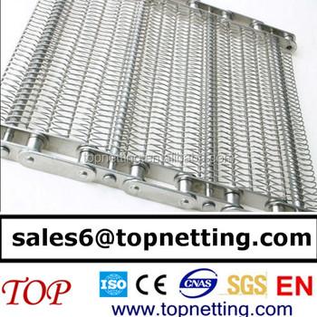 Chain Link Wire Mesh Roller Chain Conveyor Belt - Buy Roller Chain ...