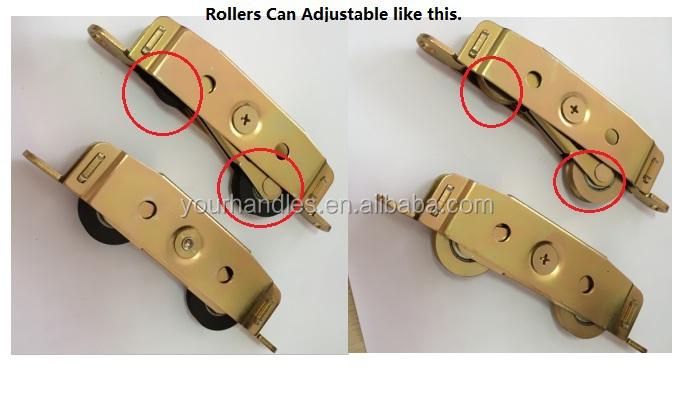 sliding screen door rollercorner bracket with nylon rollersteel